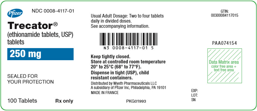 Principal Display Panel - 250 mg Tablet Bottle Label