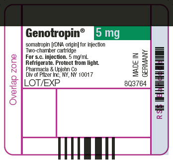 PRINCIPAL DISPLAY PANEL - 5 mg Cartridge Label