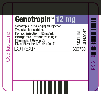 PRINCIPAL DISPLAY PANEL - 12 mg Cartridge Label